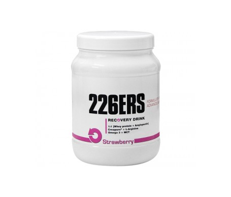 226ERS recuperador muscular fresa 500g