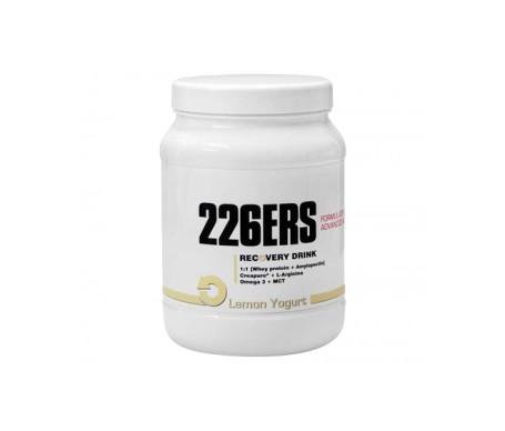 226ERS recuperador muscular yogur de limón 500g