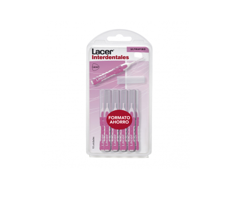 Lacer Interdental recto ultrafino 10uds