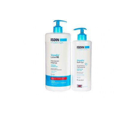 Ureadin® Hydration 10% urea 400ml + gel 200ml