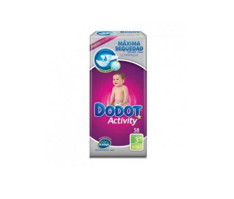 Dodot Activity T3 De 4 A 10 Kg 58 Unidades