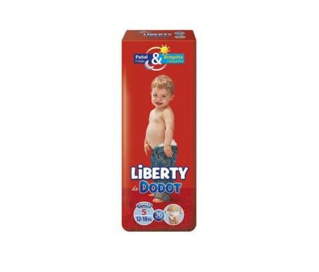 Dodot Pañal Plus Liberty T5 12-18kg 36ud