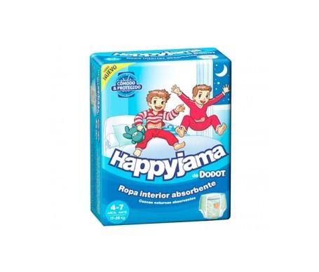 Dodot Pañal Happyjama T-7 niño 17uds