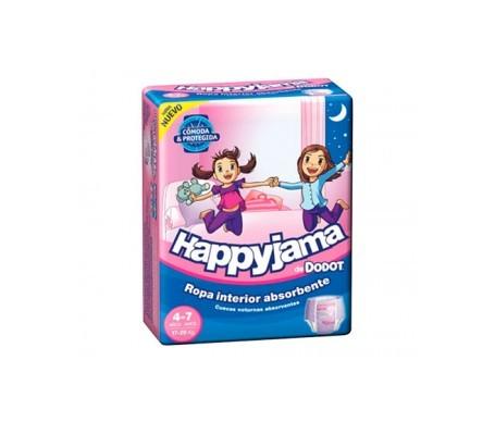 Dodot Pañal Happyjama T-7 niña 17uds