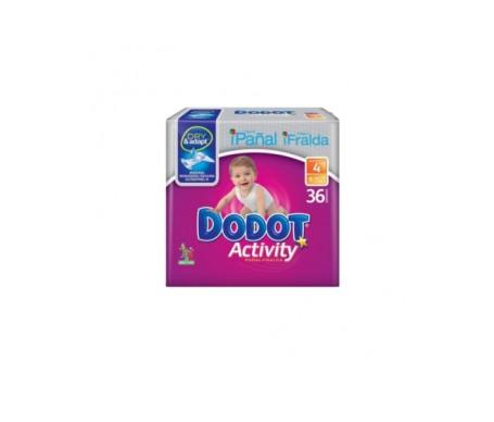Dodot Pañal Plus Activity T/4 9-15kg 36ud