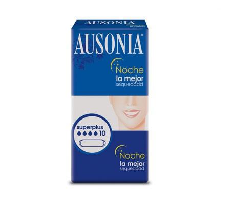 Ausonia Night Superplus serviettes 10 unités