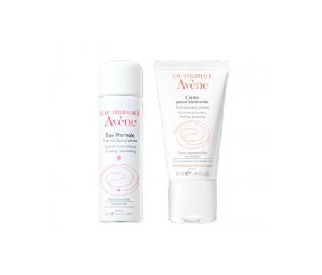 Avène Intolerant skin cream 50ml + thermal water 50ml
