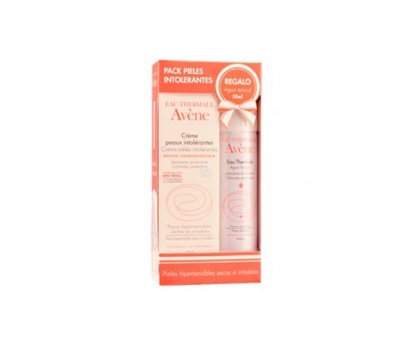Avène enriched cream for intolerant skin 50ml + thermal water