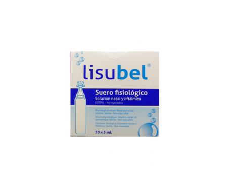 Lisubel Suero Fisiologico Nasal Y OftÁlmico 40 Amp 5 Ml