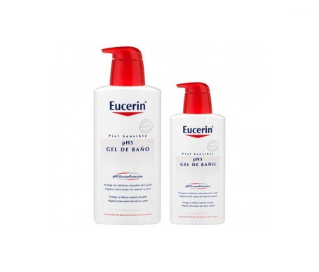 Eucerin® gel de baño pH5 1l + REGALO loción pH5 200ml