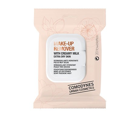 Comodynes Make-up Remover Piel Seca 20 Toallitas