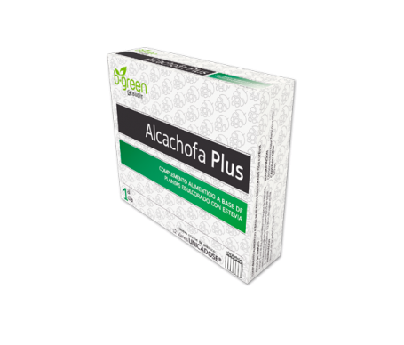 B-green alcachofa plus 12 viales