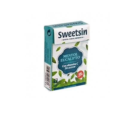 Sweetsin caramelos propóleo mentol- eucaliptus sin azúcar 36,5g