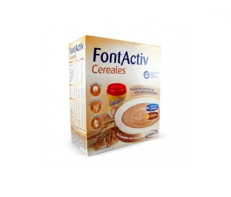 Fontactiv 8 cereales choco 600g