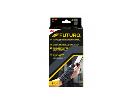 Futuro® 3M muñequera pulgar color negro T-S/M 1ud