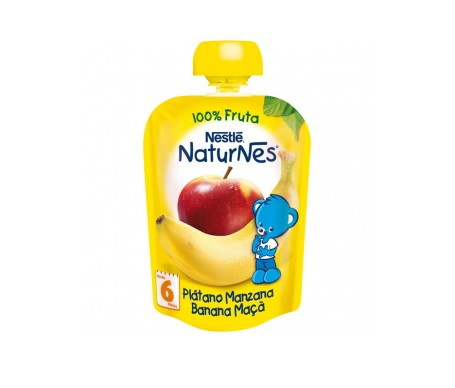 Nestle Naturnes Platano Y Manzana 90g