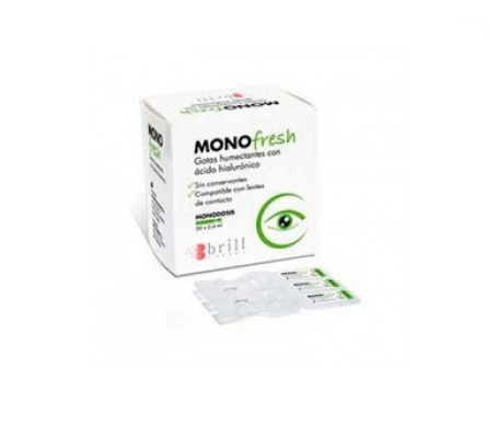 Mono Fresh gotas humectantes 30udsx0,4ml
