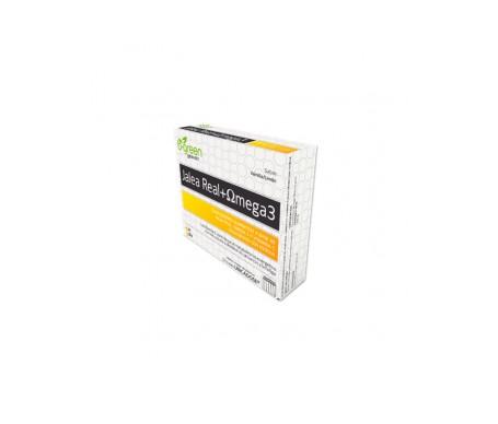 B-green jalea real y omega 3 12 viales