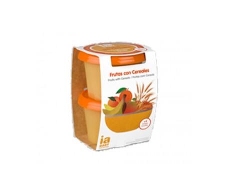 Interapothek IA Baby frutas con cereales 2udsx200g
