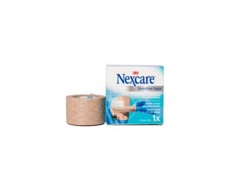 3m Nexcare Esparadrapo Hipoalergenico Piel Sensible N1540 5m X 2