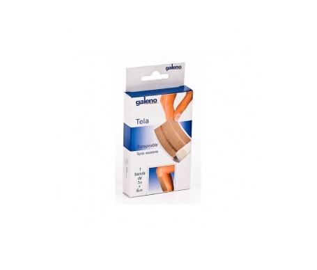 Galeno Tiras Protec Tela Aposito Adhesivo 50x6 Cm Color Piel