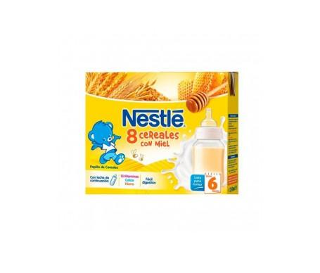 Nestle 8 Cereales Con Miel Brick Listo Para Tomar 2x250ml