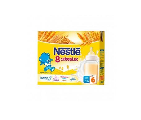 Nestle 8 Cereal Brick Listo Para Tomar 2x250ml