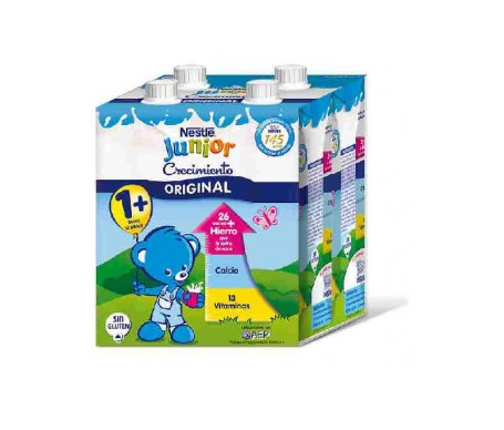 Nestle Junior Crecimiento Calci 4x500