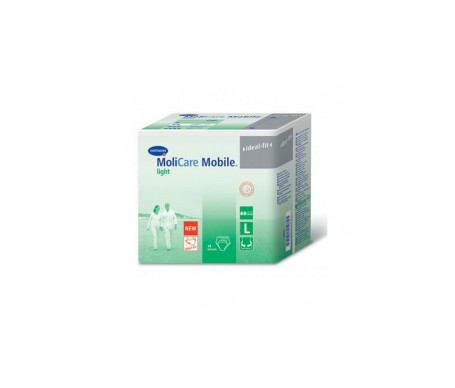 Molicare Mobile Light T-L 14uds
