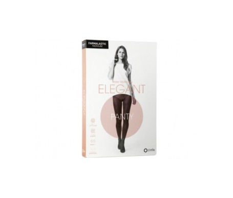 Farmalastic Novum Elegant panty ligero color chocolate T-1 1ud