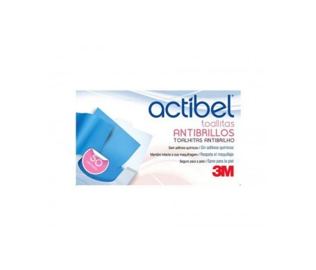 Actibel Toallitas Antibrillo 50 U