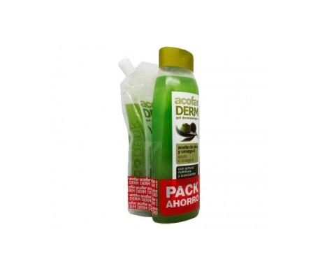 Acofarderm gel aceite de oliva 750ml + ecopack 250ml