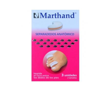 Marthand Separador Dedos Espuma 2 Tamaños 3u