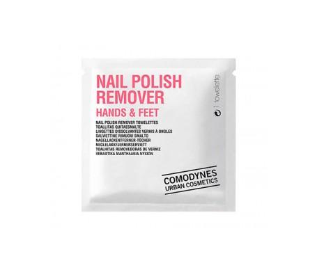 Comodynes Nail Polish Remover Toallitas Quitaesmaltes