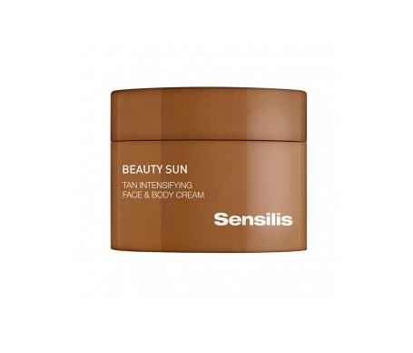 Sensilis Beauty Sun Tan Intensifying  Crema Face/body 150 Ml