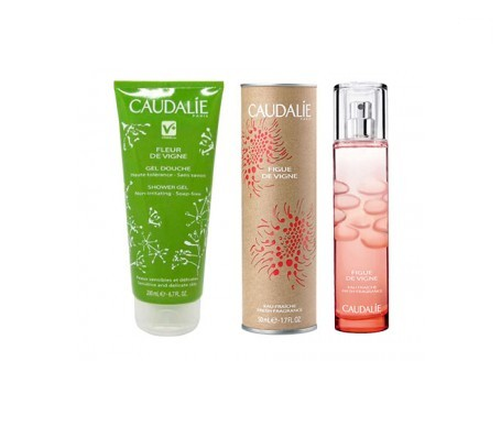 Caudalie Figue de Vigne agua fresca 50ml + gel de ducha 200ml de REGALO