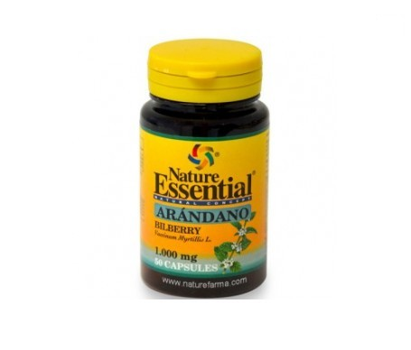 Nature Essential Arandano 1000mg 50cap