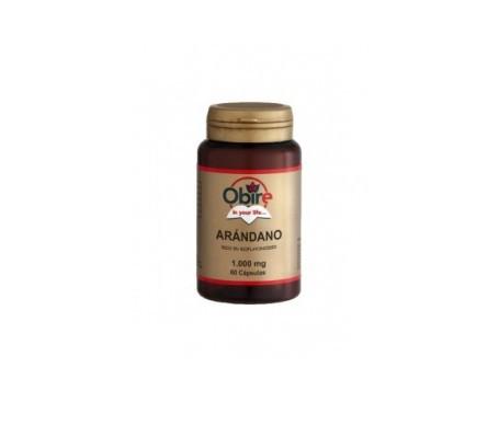 Obire Arándano rojo extracto seco 200mg  60cáps