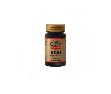 Obire Acai 250mg 100 Comprimidos