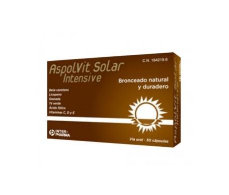 Aspolvit solar intensive 60cáps