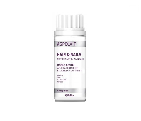 Aspolvit Hair & Nails 60comp