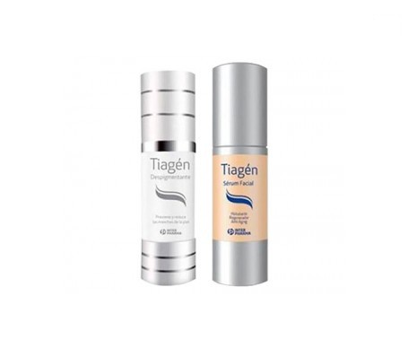 Tiagen sérum 30ml + Despigmentante 15ml