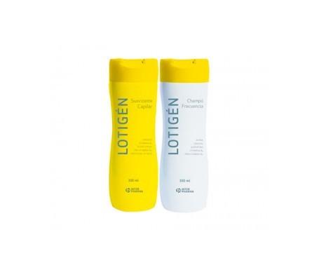Lotigen shampoo frequenza 300ml + ammorbidente 300ml
