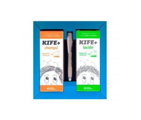 Kife + champú 100ml + loción 100ml