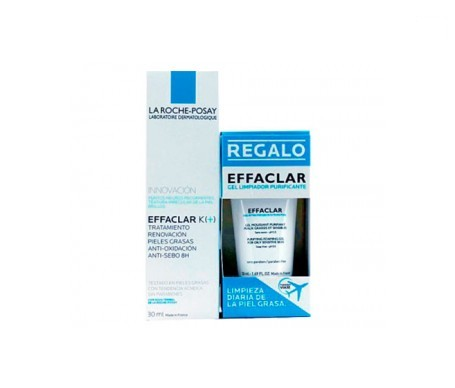 Effaclar K 30ml + gel limpiador 50ml