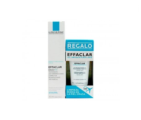 La Roche-Posay Effaclar Duo 40ml +  gel limpiador 50ml