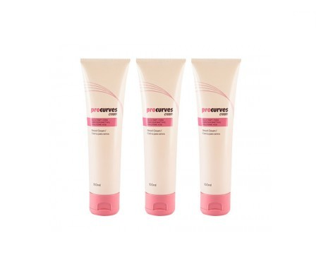 Procurves Cream Crema Aumentar y Reafirmar Pecho 3x100ml