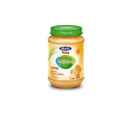 Hero Baby tarrito naranja/plátano/galleta 200g