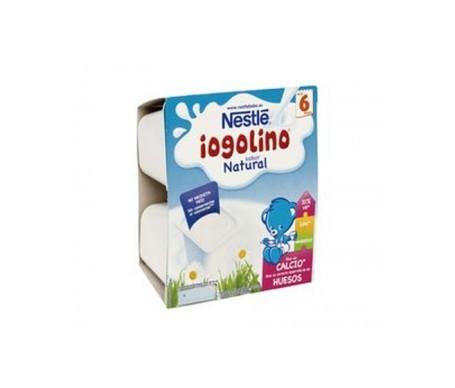 Nestle Iogolino Natural Tarrina 4x100