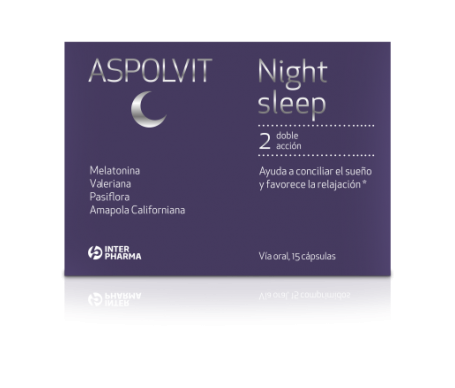 Aspolvit Night Sleep 15cáps